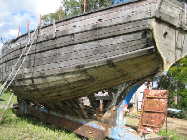 Antique Classic Wooden Boat For Sale 01 Wood Ketch For Sale