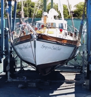 Antique Classic Wooden Boat For Sale 01 Spray Replica For Sale
