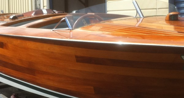 Antique Classic Wooden Boat For Sale 01 Classic Wooden Ski Boat