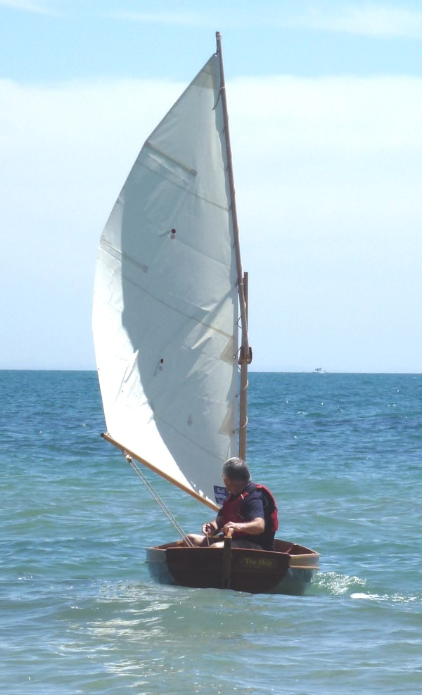 Foster 10 Sailing Dinghy under sail