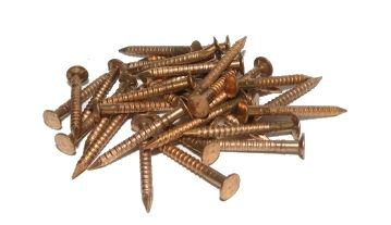 Silicon bronze boat screws